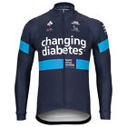 Team Novo Nordisk Cycling Jersey Retro Road Pro Clothing MTB Long Sleeve