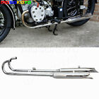750cc Retro Ural Exhaust Muffler Pipes Mount 32HP Exhaust Silencer Tube For BMW