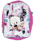 Disney Minnie Mouse Girls Pink Back Pack Matching Lunch Bag BTS