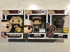 Funko Pop Stranger Things Bundle: Eleven, Dustin, Dart Chase Exclusive New!