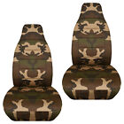 Front Car Seat Covers Urban Camouflage Tanbrownpinkgray..for Liberty2002-2012