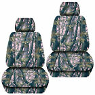 Jeep Liberty Front Car Seat Covers Camo Tree Graypinkorangegreen...