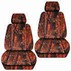 Front Car Seat Covers Camo Tree Grayorangegreenpink...for Liberty 2002-2012