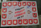 Maurice Richard Montreal Canadiens Greatest Legends On Ice Autographed