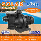 500W DC Solar Pump In Ground Swimming Pool Pump Clean Spa Brushless Motor 66GPM