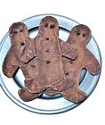 NEW Handmade 3 pc Gingerbread Boy SCENTED Bowl Fillers Primitive/Country