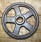 Cast Iron Industrial GEAR SPROCKET Lamp Base STEAMPUNK 5 3/4