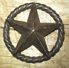 Large Cast Iron Antique Style Industrial Star Texas Lone Rustic Ranch 6 3/4