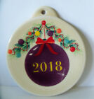 Fiesta NEW 2018 Christmas Tree Ornament MULBERRY / new in package / 1st Quality