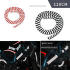 120CM Black Colour Motorcycle Motorbike REFLECTIVE Rim Stripe Tape