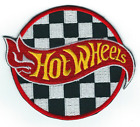 HOT WHEELS Cars Embroidered Iron on Logo PATCH for Hat Jacket Hoodie Backpack