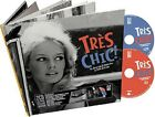 TRES CHIC-GOLDEN AGE OF FRENCH COOL (MUSICBOOK)  CD + BUCH NEW+
