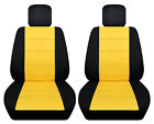 Vw Beetle Front Car Seat Cover Blackyellow Wdaisyladybughibiscusbutterfly..