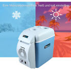 Portable 7.5L 12V Electric Car Mini Fridge Refrigerator Cooler Warmer Travel Box