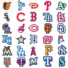 2 MLB Team Logo Decal Stickers Baseball Licensed All 30 Teams Available
