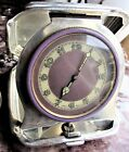 Co.Sterling Silver 8 Day Travel Clock Swiss Movement Antique Art Deco