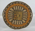 Vintage Native American Indian Hand Woven Hopi Wicker Basket 9