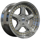 ESM 005R Chrome 17x85 4x100 +20 BMW E30 84 91 325i 325is 318i 318is 325es