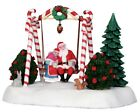 NEW LEMAX VILLAGE COLLECTION SANTA SWING #24479