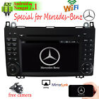 Car DVD GPS Player Android 7.1 4G WIFI Indash For Mercede Benz A-Class W169 2012