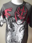 New MYSTERIO RESPECT Young Men's Mans T-S HIRT Tee Grey    M