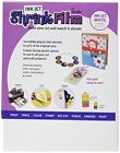 Grafix 8-1/2-Inch by 11-Inch Shrink Film Printable White Inkjet 6 Pack