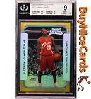 03-04 Lebron James Bowman Chrome Gold Refractor RC Rookie Jersey #23 50 BGS 9