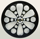 Kool Kat Black Cut CNC 23 x 35 Front Dual Disc Wheel for Harley