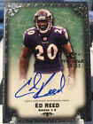 2010 TOPPS FIVE STAR ED REED #29 OF 50 AUTOGRAPH RAVENS AUTO