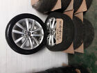 VW PASSAT B7 2009 16 GENUINE ALLOYS WHEELS WITH TYRES 235 45 R17