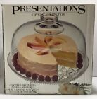 INDIANA GLASS Presentations 2PC Footed Domed Cake Plate Salad Punch Serving Bowl