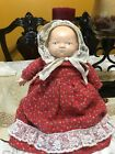"""RARE 13"""" Composition Bye-Lo Baby Doll by Grace S. Putnam with Pillow"""