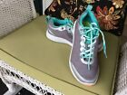 WOMENS AUTHENTIC VIONIC GRAY SILVER MESH AQUA SPORT WALKING SNEAKERS SHOES 7m