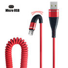 Micro USB Fish Tail Spring Durable Cable Data Fast Charging For Android Newest