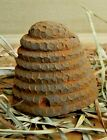 New Primitive/Country Scented Handmade Blackened Beeswax Beeskep/hive Bowl Fill