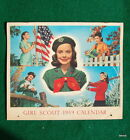 VINTAGE GIRL SCOUT - 1959 GIRL SCOUT CALENDAR - 1959 ROUNDUP