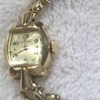 Longines Mechanical Watch, Ladies, 17 Jewels, 10K Gold Filled.
