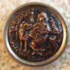 Spectacular large Little Red Riding Hood, rare copper version 1 1/2