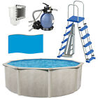 Phoenix 18 x 52 Above Ground Pool with Sand Filter Ladder Liner + Skimmer