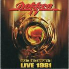 Dokken – From Conception: Live 1981 RARE COLLECTOR'S CD! FREE SHIPPING!