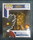 Funko Pop World of Warcraft Gold Deathwing Pop Asia Exclusive Mint Condition