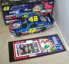 124 ACTION 2009 48 JIMMIE JOHNSON FOUNDATION SAM BASS HOLIDAY CHRISTMAS CAR