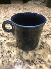 Fiesta Fiestaware Set of 4 Coffee Mugs Cups Cobalt Blue