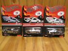 Hot Wheels RLC Olds 442 Mustang Barracuda RED STRIPE Lot of 3