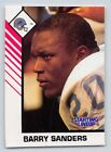 1993  BARRY SANDERS - Kenner Starting Lineup Card - DETROIT LIONS (White)
