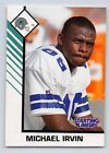 1993  MICHAEL IRVIN - Kenner Starting Lineup Card - DALLAS COWBOYS - (White)