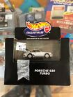 Hot Wheels Collectables Black Box Porsche 930 Turbo Limited Edition