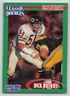 1998  DICK BUTKUS - Starting Lineup Card - #51 - CHICAGO BEARS - CLASSIC DOUBLES