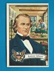 1956 Topps US Presidents Trading Cards 16
