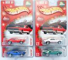 HOT WHEELS 2004 HOLIDAY RODS 67 CAMARO COMPLETE SET OF 4 COLORS MOMC REAL RIDERS